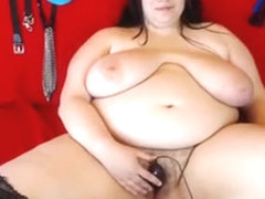 Lustful Plumper Engages In Intense Toying And Fingering On
