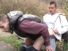 Teen toys fuck outdoor gay Two Sexy Amateur Studs Fucking In Public!
