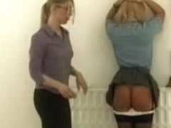 Katie The Solely Cutie Caned At School xLx