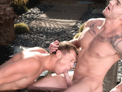 Hidden Palms XXX Video: Pierce Paris, Jake Ashford - FalconStudios
