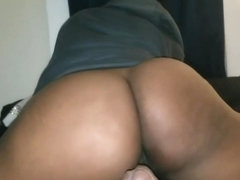 Honey Bounces Phat Ass on Whiskey's BBC