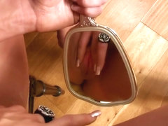 Megan Coxxx in Mirrored Masturbation