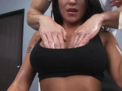 Brazzers - Big TITS in Sports - Jenaveve Jolie Johnny Sins - Rock Hard