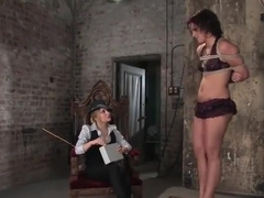 Fetish porn video featuring Aiden Starr and Sara Faye