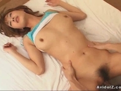 Breasty Japanese whore Ai Kurosawa drilled hard