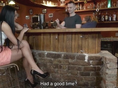DADDY4K. Slutty chick really wants to try hard cock of paramour's dad
