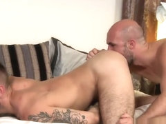 Plowed hairy stud tugged