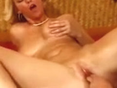 Alicyn Plays With Her Tits