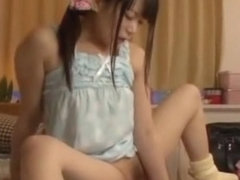 Crazy Japanese chick Akie Harada in Amazing Small Tits, Solo Girl JAV scene