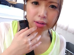 Mei Wakana Gets Cum In Her Mouth From Colleague - JapanHDV