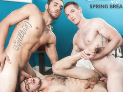 Jackson Cooper & Donte Thick & Carter Woods in Spring Break Reunion - NextdoorWorld
