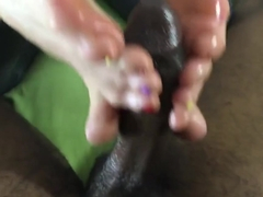 Denise Foxxx Footjob
