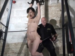 Fetish Pornstar Elise Graves In Fierce Dungeon Whipping