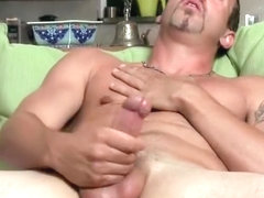Hot ex boyfriend caught jerking his nice part5