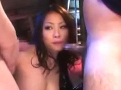 Horny Japanese model in Amazing Big Tits, Latex JAV video