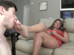 Daniela - The Chastity Tube Makes it Ok to Lick Mommies Pussy (Part 1)