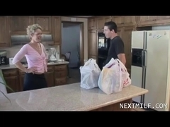 Delivery Guy Meets Horny Housewife