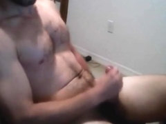 Hot Florida college guy eats his cum