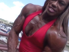 Black muscle goddess 3