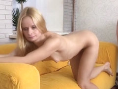 European Milf Rides Cock At Sex Audition