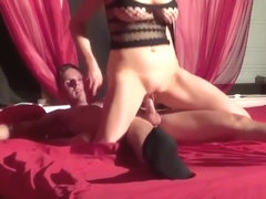German Couple Fucks in Swinger Club and Made Real SexTape