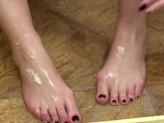 Blaten Lee Foot Fetish Masturbation