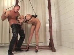 Dominated Cherry Jul gets her hot pussy nailed