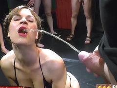 Sex and Piss for Hottie Luisa - 666Bukkake
