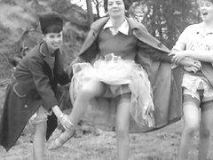 Vintage upskirt panties