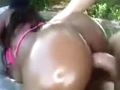 Ebony Baby Cakes Gets Fucked