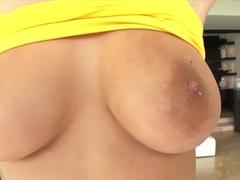 Fabulous pornstar April O'Neil in incredible latina, cumshots xxx clip