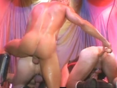 Extreme gay fisting threesome porn clips part4