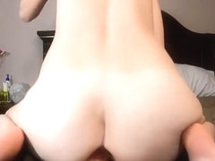 Riding Your Dick With a Butt Plug - Creampie