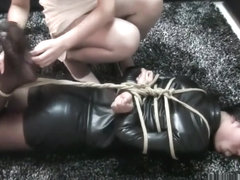 Uncut big ass otngagged bondage