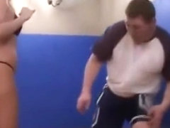 Kriistian4 Mixed Wrestling part 1