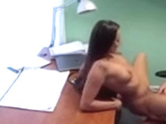 Doctor eats and fucks sexy nurse in a hospital