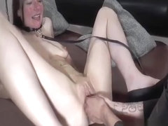 Hard double fisting for hot milfs loose snatch
