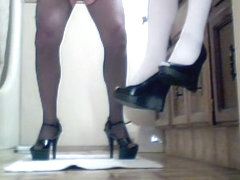 Exotic sex clip Pantyhose private watch full version
