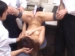 Naughty office sex scenes with Jun Kusanagi