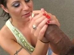 Ebony college anal homemade