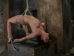 Girl next door suffersCategory 5 Suspension Extreme Orgasms to sub-space.