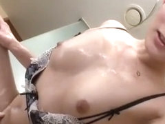 Best Japanese slut Akie Harada in Incredible Showers, Girlfriend JAV movie