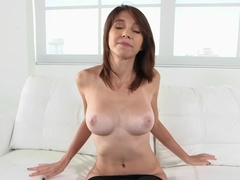 Busty Cece Capella enjoys this dick