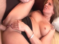 Summer Storm gets ass fucked by younger guy