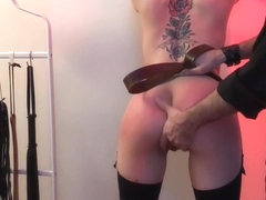 Flogging session