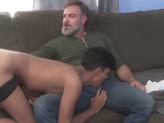 FamilyDick - Latin Twink Gets Rammed On Sofa
