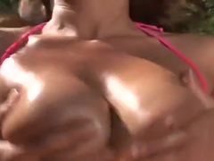 Huge tits sex video featuring Marcos and Drew Butterfly
