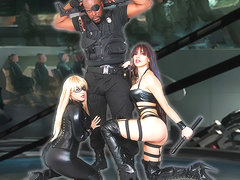 Savana Styles & Alix Lovell & Lexington Steele in Avengers: Virginity War - ShakeTheSnake