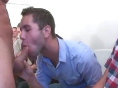 Huge cock sausage gay orgy party part2