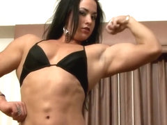 Hot muscle girl